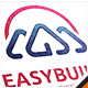 Easy Build House Logo - GraphicRiver Item for Sale