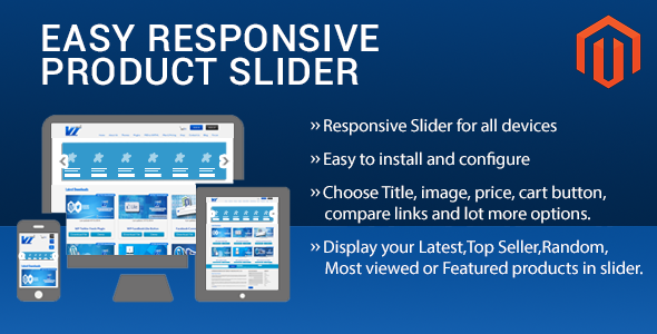 CodeCanyon Easy Responsive Product Slider Magento Extension 10105977
