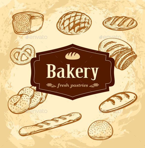 GraphicRiver Bakery 10115922