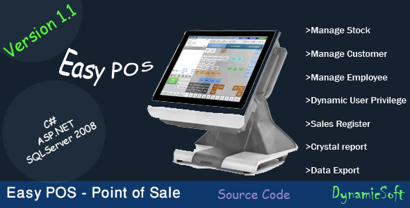 CodeCanyon Easy POS Point of Sale 10141609