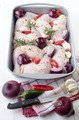 raw chicken drumsticks with vegetables - PhotoDune Item for Sale