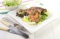 thyme chicken drumsticks on salad - PhotoDune Item for Sale