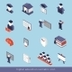 Higher Education Isometric Set - GraphicRiver Item for Sale