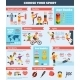 Sports Infographics Set - GraphicRiver Item for Sale