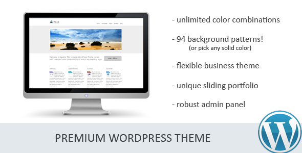 Apollo - Premium Wordpress Theme