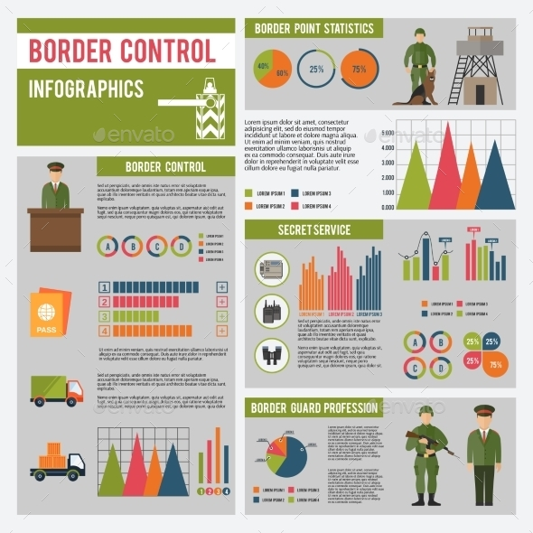 GraphicRiver Border Guard Infographics 10142183