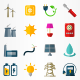 Electricity Icons - GraphicRiver Item for Sale