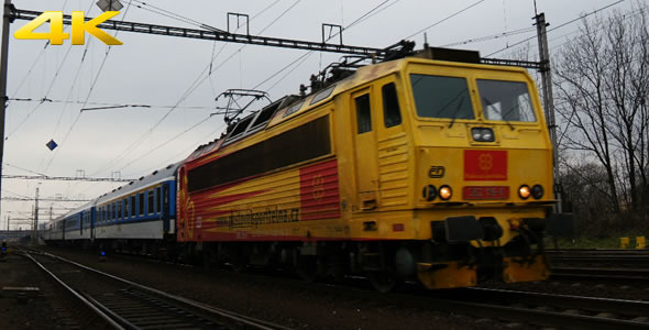 VideoHive Passenger Train 2 10142458
