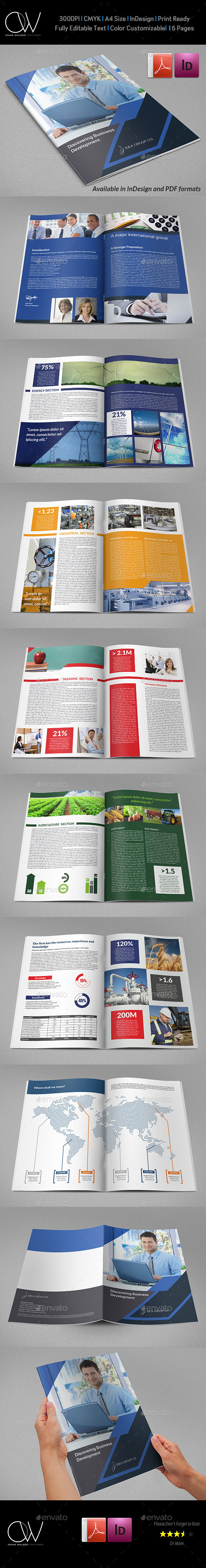 GraphicRiver Corporate Brochure Template Vol.40 16 Pages 10142463