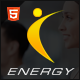ENERGY - Responsive Fitness Template - ThemeForest Item for Sale