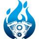 Hot Engine Logo - GraphicRiver Item for Sale