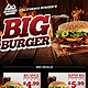 Burger Food Flyer Template - GraphicRiver Item for Sale
