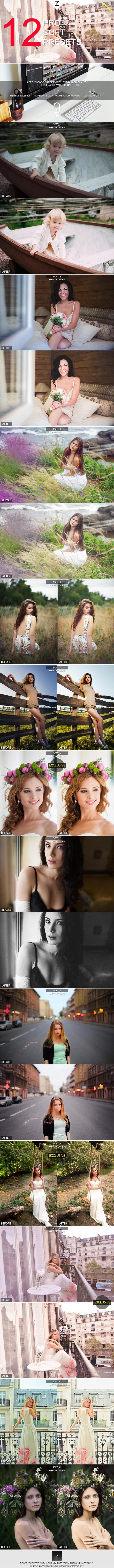 GraphicRiver 12 Pro Soft Presets 10142953
