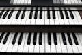 Top view of a church organ keyboard - PhotoDune Item for Sale