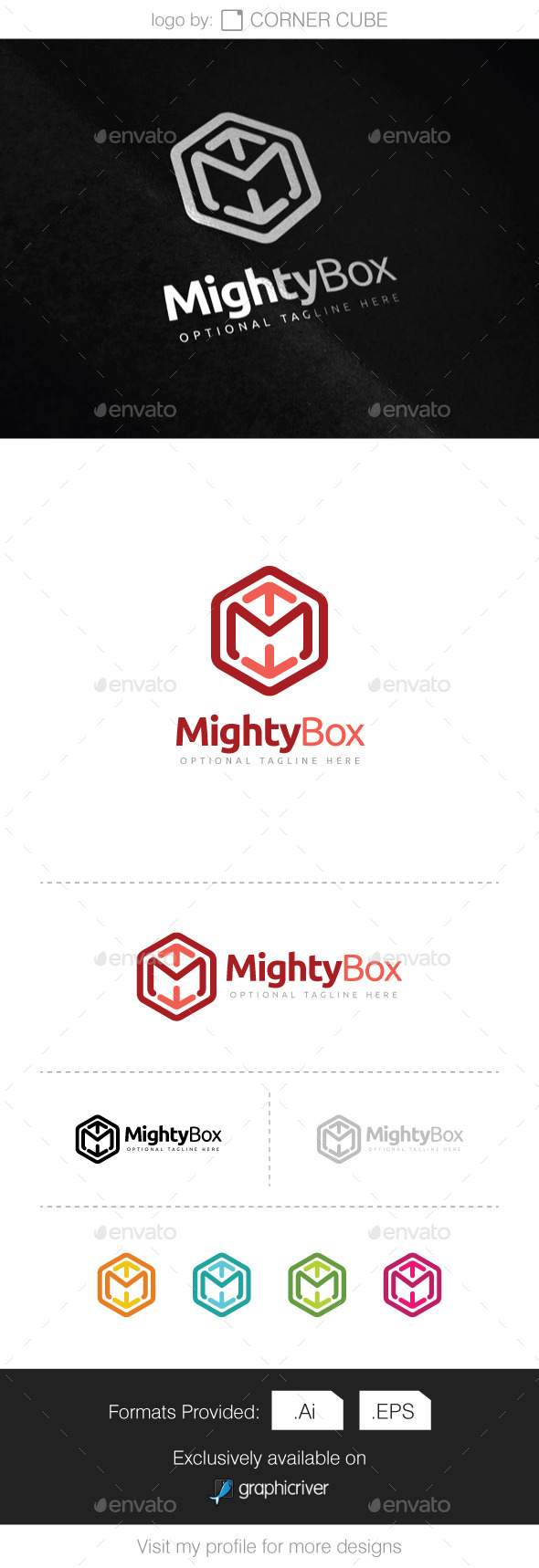 GraphicRiver Mighty Box Logo 10143491