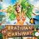 Brazilian Carnival Flyer / Poster - GraphicRiver Item for Sale