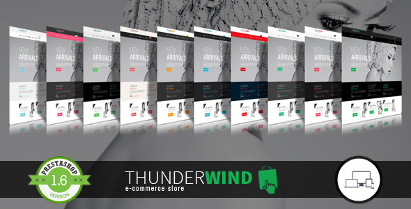 ThemeForest ThunderWind Responsive Prestashop 1.6 Theme & Blo 10143672