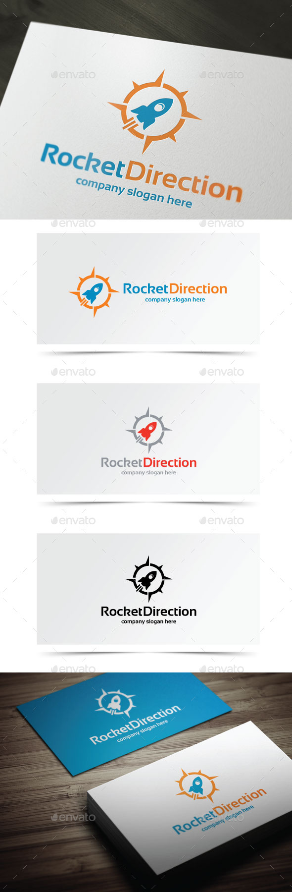 GraphicRiver Rocket Direction 10143729