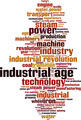 Industrial Age Word Cloud Concept - PhotoDune Item for Sale