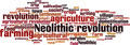 Neolithic Revolution Word Cloud Concept - PhotoDune Item for Sale