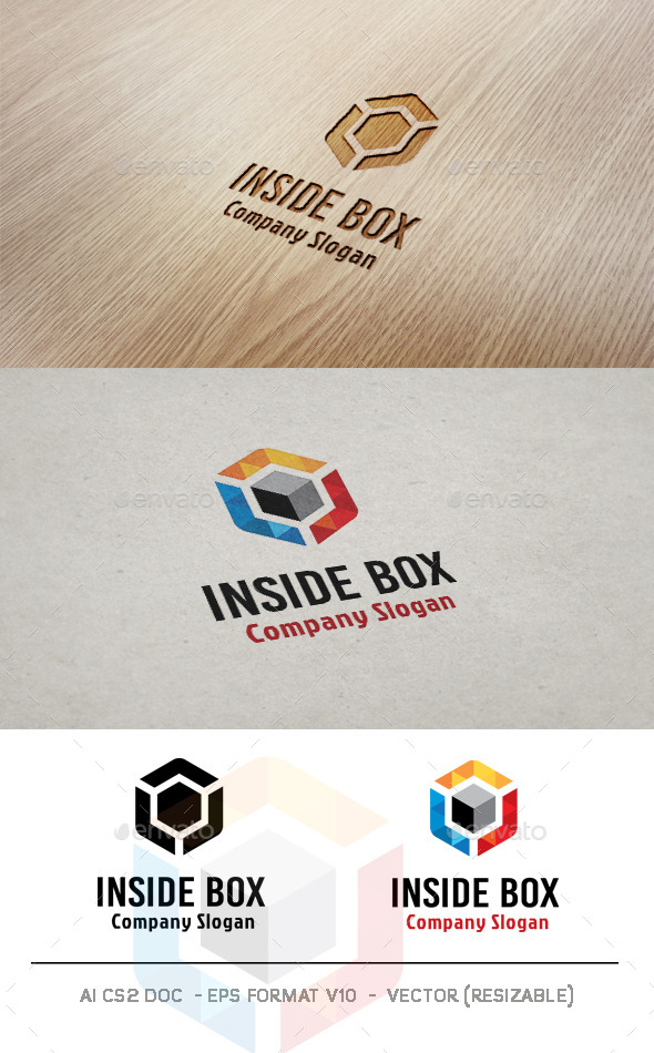 GraphicRiver Inside Box Logo 10144401