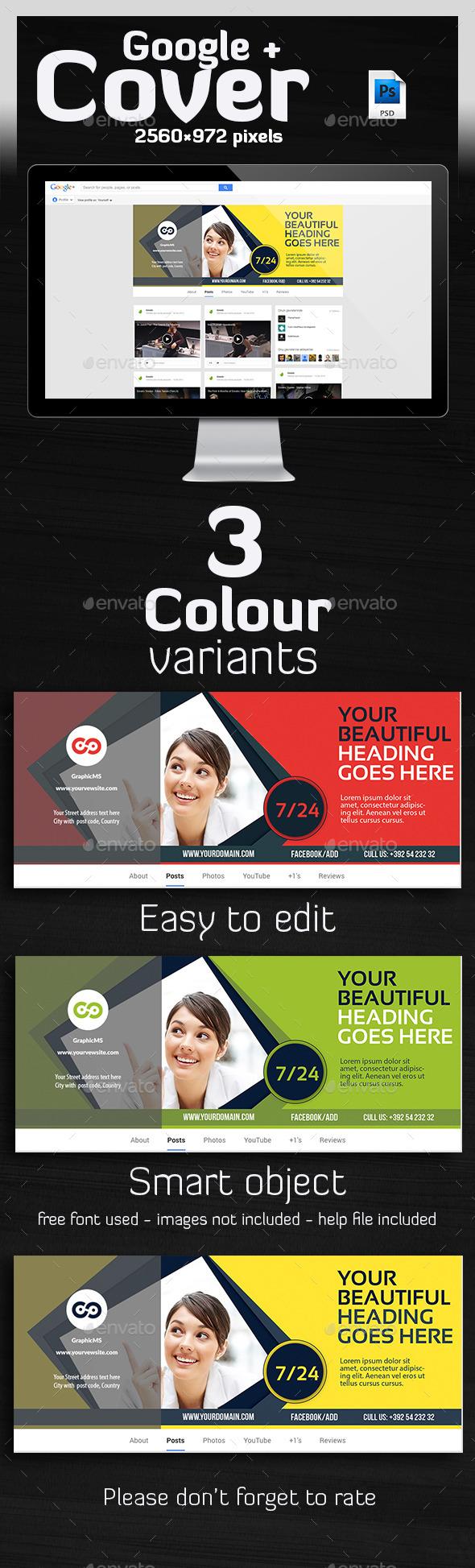 GraphicRiver Multipurpose Google Plus Cover 10144421