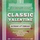 Classic Valentine Flyer Template - GraphicRiver Item for Sale