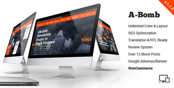 A-Bomb | News & Blog & Magazine Theme