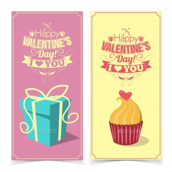 GraphicRiver Saint Valentine s Day Banners 10145691