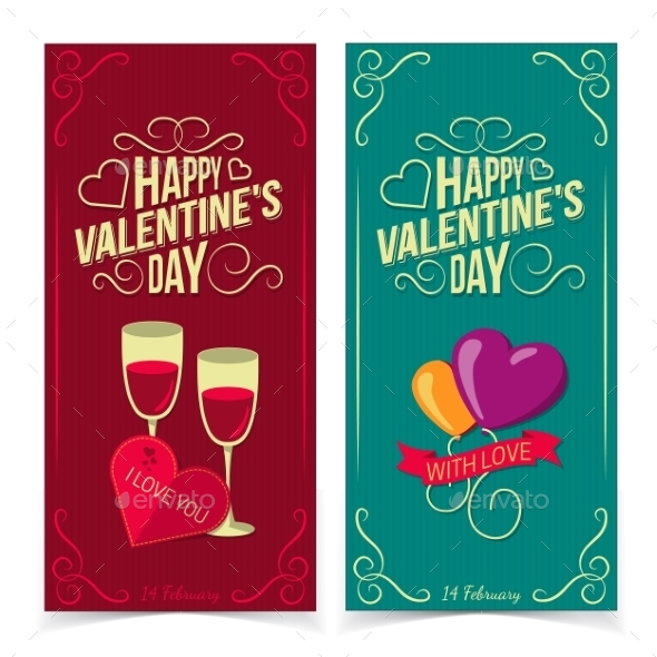 GraphicRiver Saint Valentine s Day Banners 10145706