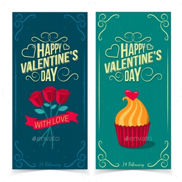 GraphicRiver Saint Valentine s Day Banners 10145709