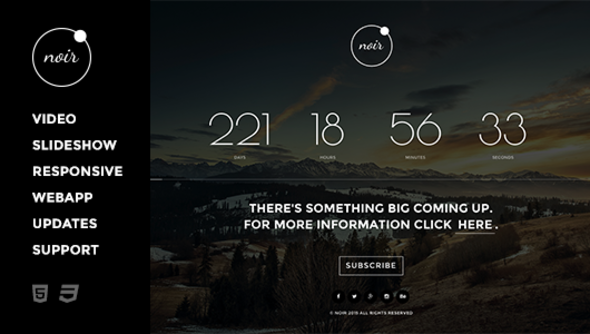 ThemeForest Noir 10070360