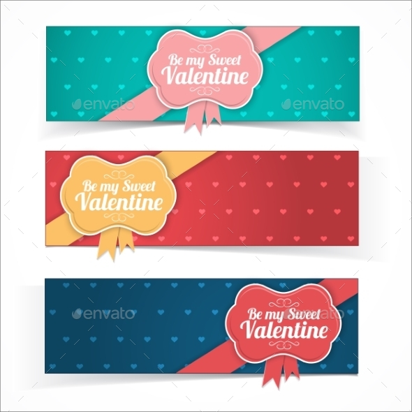 GraphicRiver Saint Valentine s Day Banners 10145712