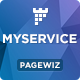 MYSERVICE - SaaS Product Landing Page Template - ThemeForest Item for Sale
