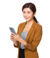 Businesswoman use of cellphone - PhotoDune Item for Sale