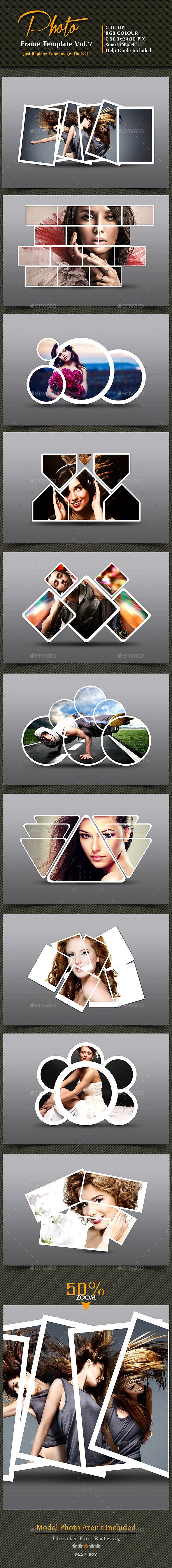 GraphicRiver Photo Frame Templates Vol 7 10146062