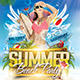 Flyer Summer Beach Party - GraphicRiver Item for Sale