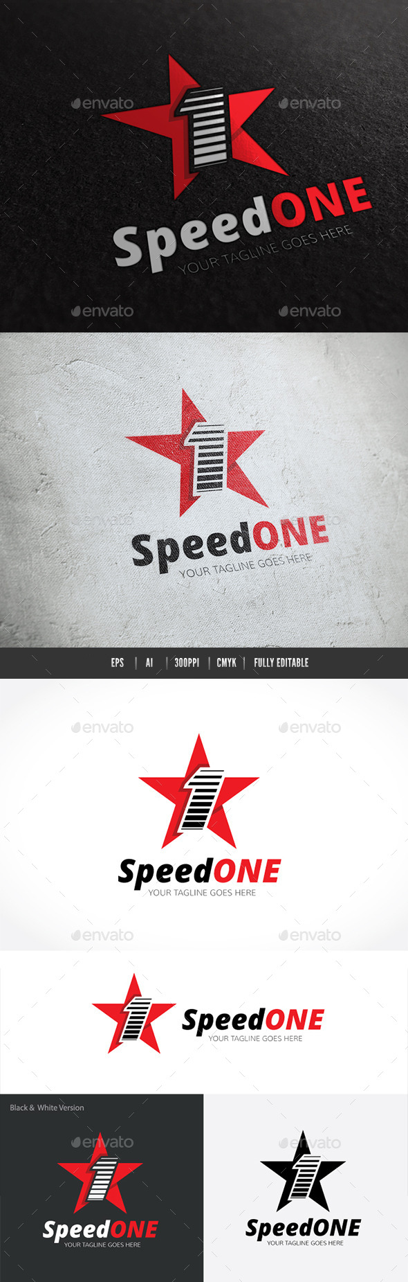 GraphicRiver Speed One 10146085