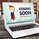 Coming Soon Page PSD 2 - GraphicRiver Item for Sale
