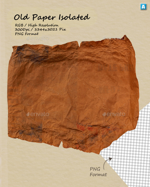 GraphicRiver Old Paper Texture 0069 10147249