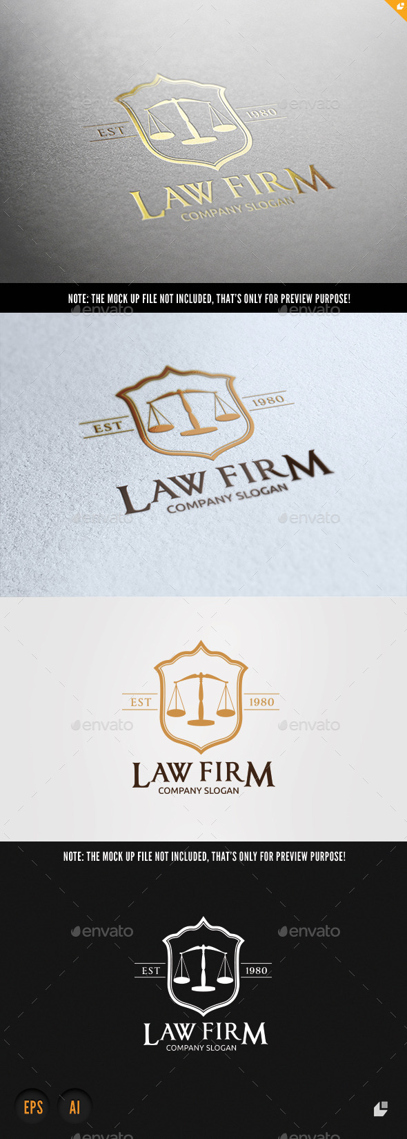 GraphicRiver Law Firm 10147369