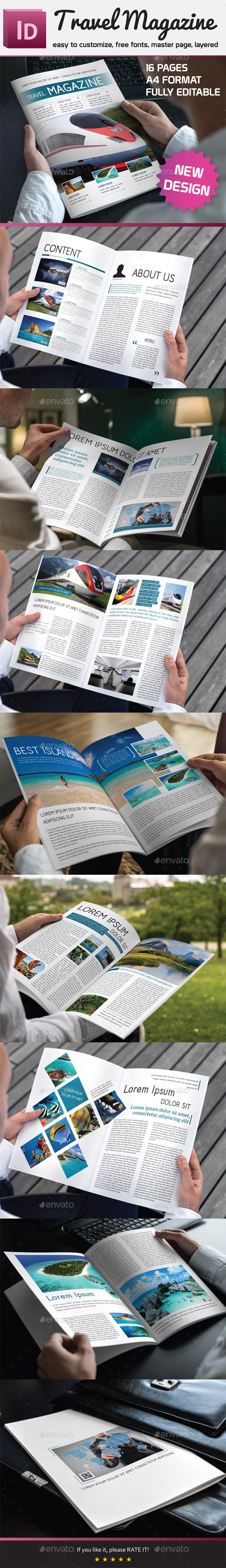GraphicRiver Travel Magazine 10147584