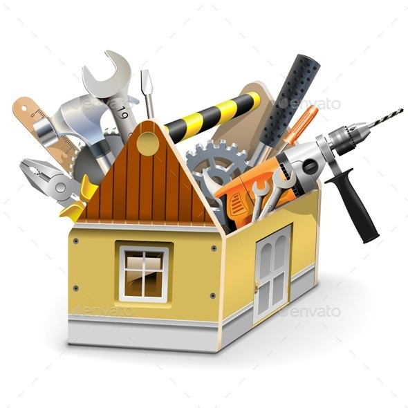 GraphicRiver Vector House Toolbox 10147598