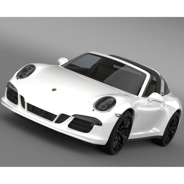 3DOcean Porsche 911 Targa 4 GTS 991 2015 10147935