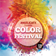 Color Festival Flyer Template - GraphicRiver Item for Sale