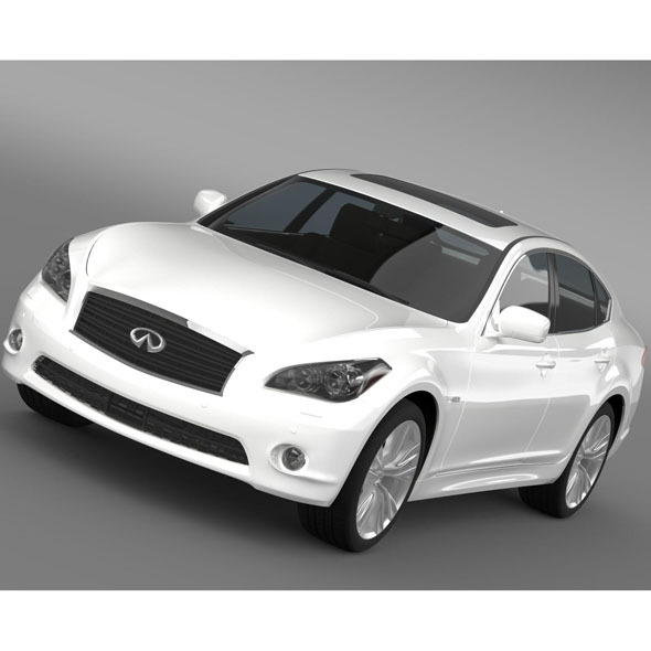 Infiniti M30d Y51 2013 - 3DOcean Item for Sale