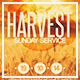 Harvest Sunday Service Flyer Template - GraphicRiver Item for Sale