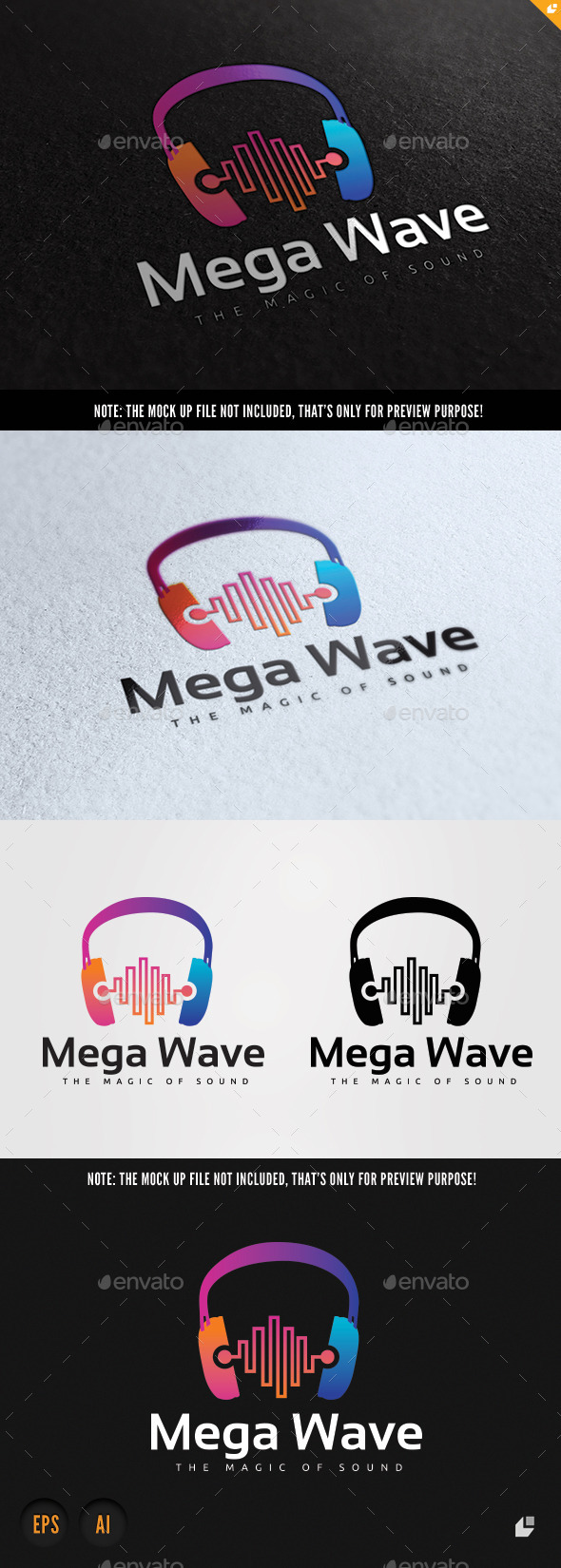 GraphicRiver Mega Wave 10148075