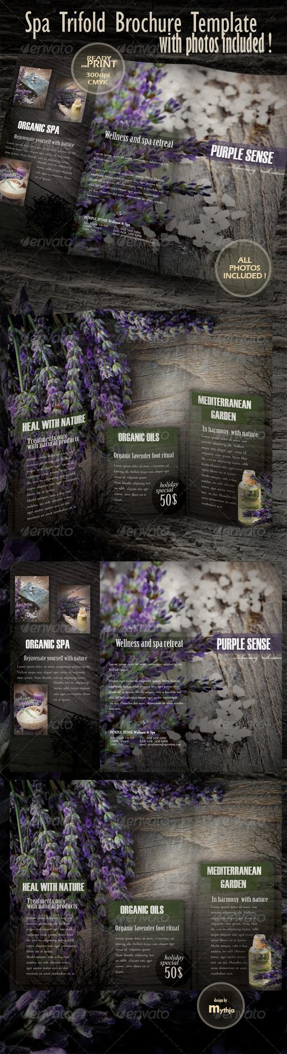 GraphicRiver Spa & Wellness Trifold Brochure 1022201