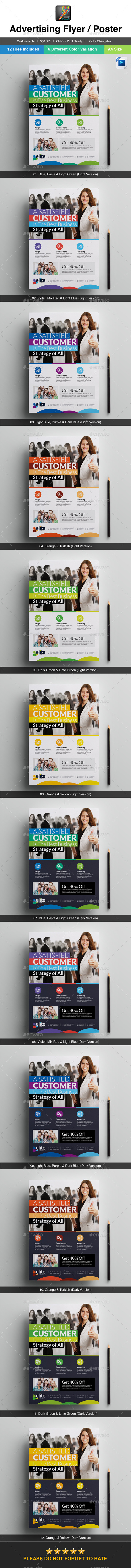GraphicRiver Elite Corporate Advertising Flyer Poster 10148464